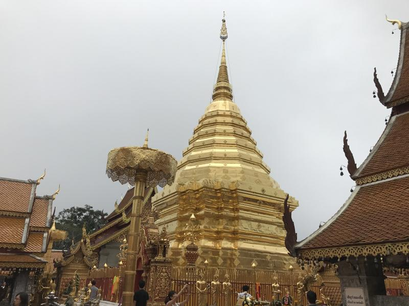 1 Day Chiang Mai City + Doi Suthep Temple  +  Handicraft Center.